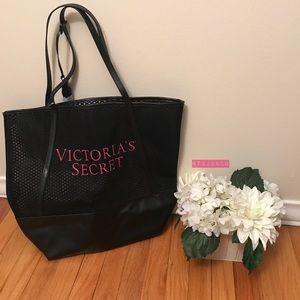 VICTORIA'S SECRET: Tassled Hot Pink Tote Bag!